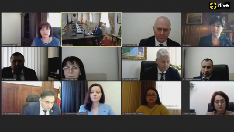 Ședința Plenului Consiliului Superior al Magistraturii, din 25 mai 2021