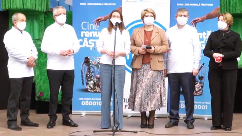 Eveniment dedicat marcării Zilei Mondiale fără Tutun 2021 în Republica Moldova