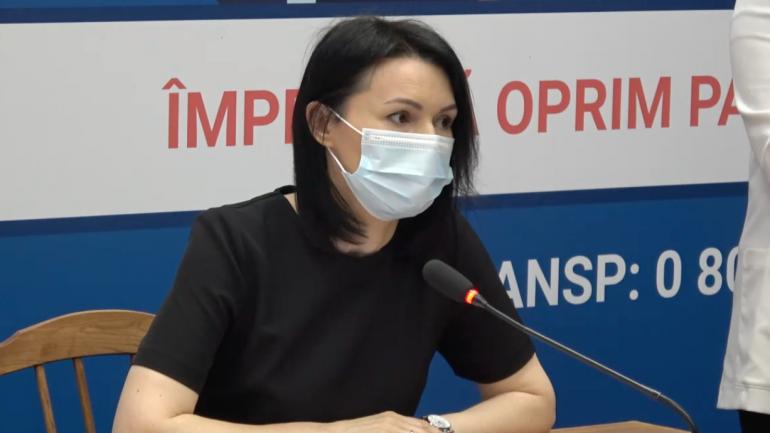Conferință de presă privind procesul de vaccinare împotriva COVID-19 în Republica Moldova