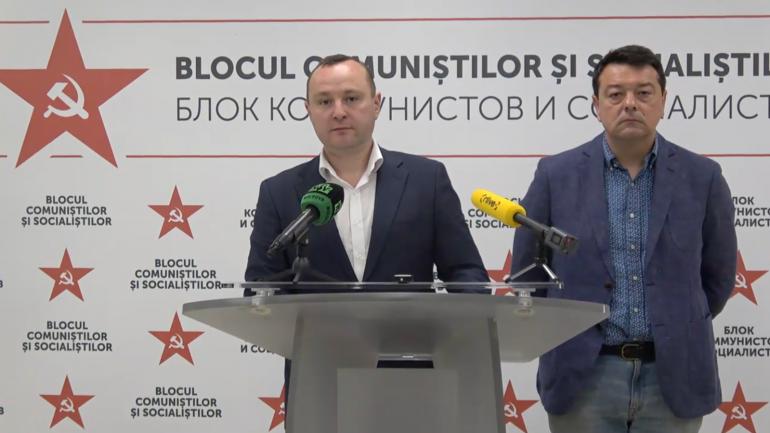 Briefing de presă al Blocului electoral al Comuniștilor și Socialiștilor