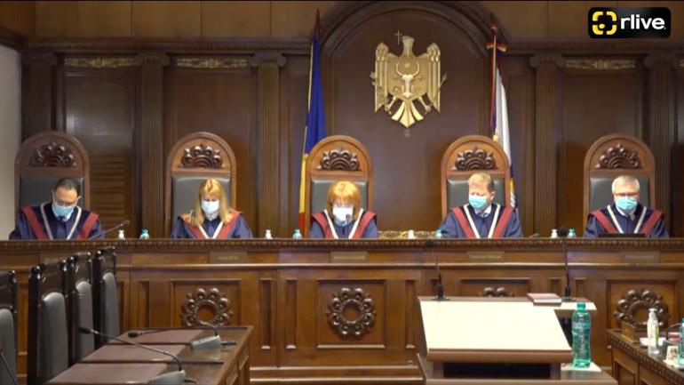 Curtea Constituțională examinează sesizarea referitoare la prevederile modificatoare ale componenței Consiliului Superior al Magistraturii