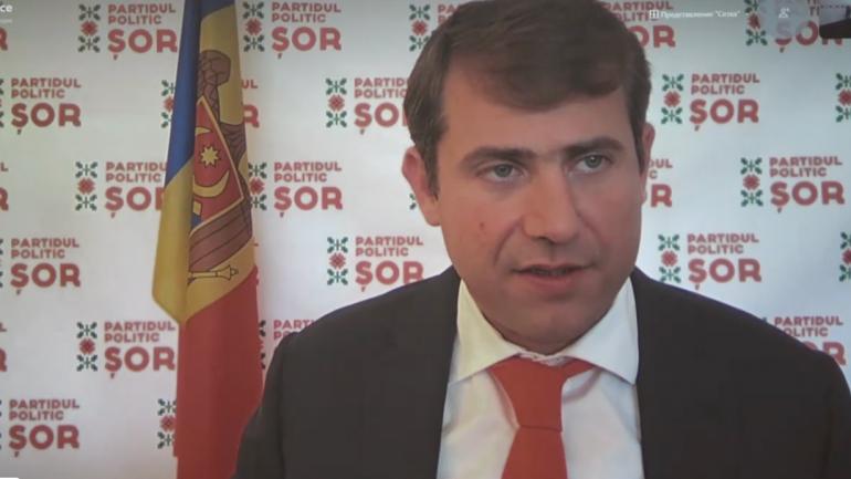 """Briefing susținut de președintele Partidului """"ȘOR"""", Ilan Șor după rezultatele preliminare ale alegerilor parlamentare anticipate"""