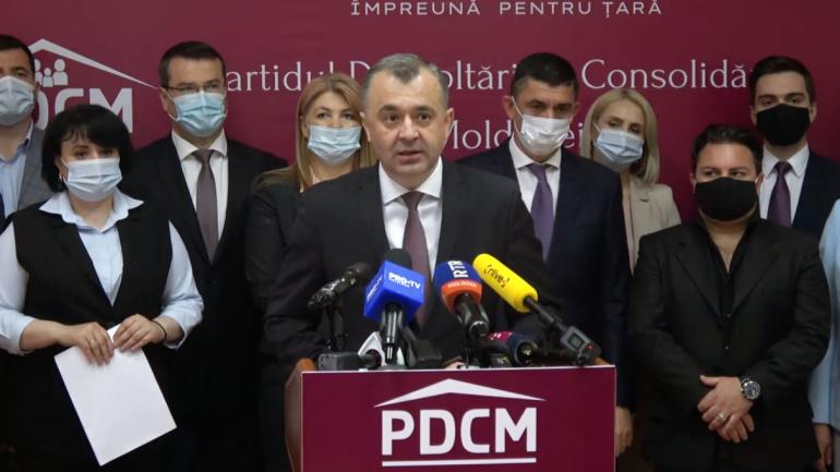 Partidul Dezvoltării și Consolidării Moldovei (PDCM), condus de fostul premier Ion Chicu, se lansează în campania electorală