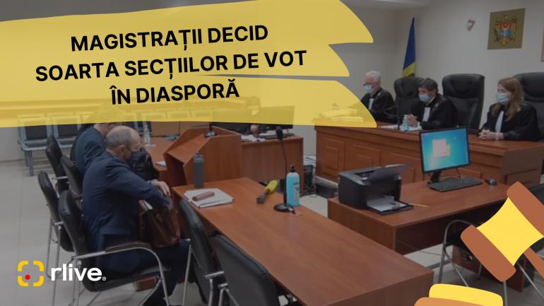 Secțiile de vot în diasporă: Curtea de Apel a reluat procesul de judecată