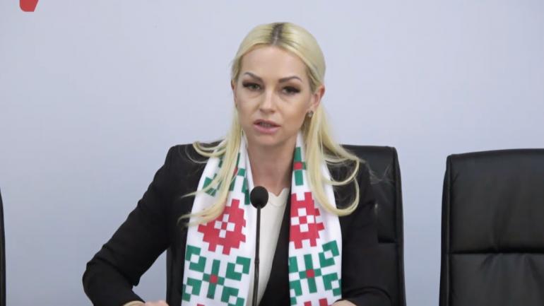 """Agenda - Marina Tauber, deputatul partidului """"ȘOR"""", susține un briefing de presă"""