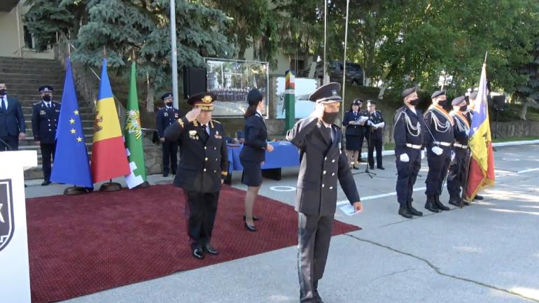 Poliția de Frontieră organizează ceremonia consacrată sărbătorii profesionale – 29 ani de existență instituțională
