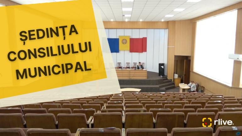 Ședința Consiliului Municipal Chișinău, din 15 iunie 2021