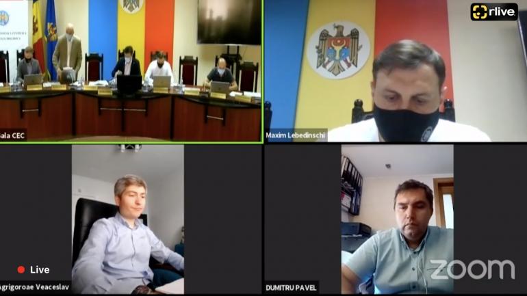 Agenda - Membrii Comisiei Electorale Centrale, întruniți în ședința din 18 iunie 2021