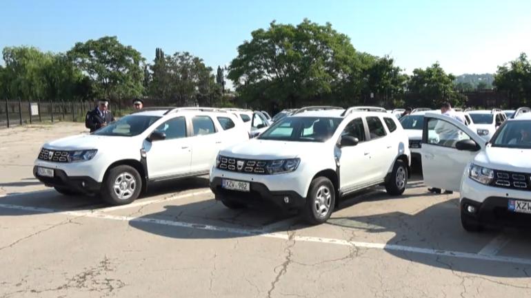 Evenimentul de repartizare a 30 de automobile destinate consolidării capacităților de investigații din cadrul unităților teritoriale