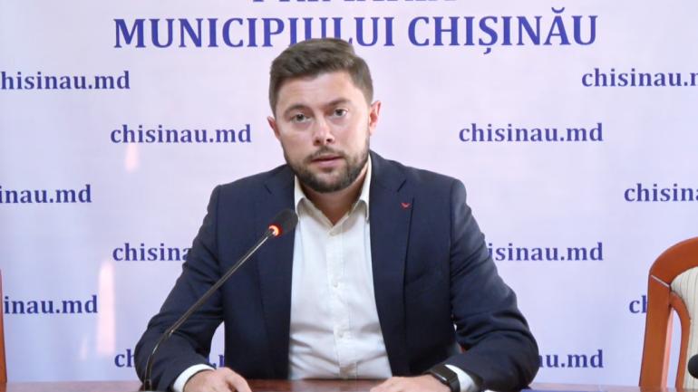 Viceprimarul Victor Chironda susține o nouă conferință de presă