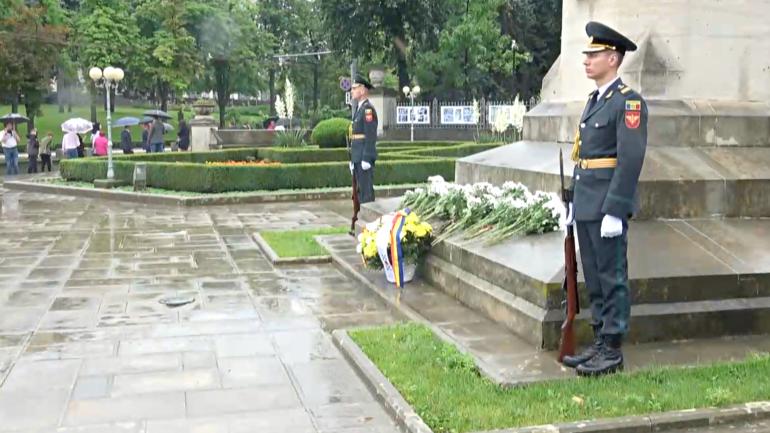 Ceremonia de comemorare a domnitorului Ștefan cel Mare și Sfânt