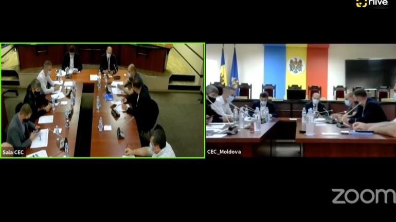 Agenda - Consultări între CEC și MAEIE pe subiectul organizării secțiilor de vot în străinătate