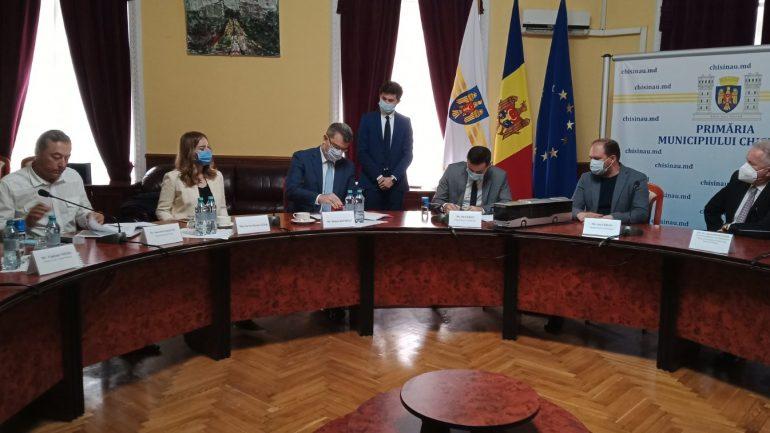 Semnarea Contractului de achiziționare a celor 100 de autobuze noi pentru municipalitate