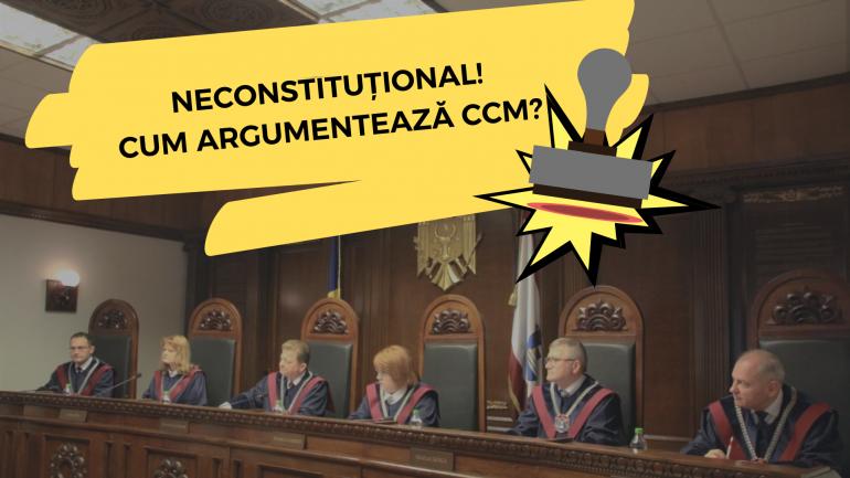 Hotărârea Curții Constituționale în privința sesizării referitoare la prevederile modificatoare ale componenței Consiliului Superior al Magistraturii