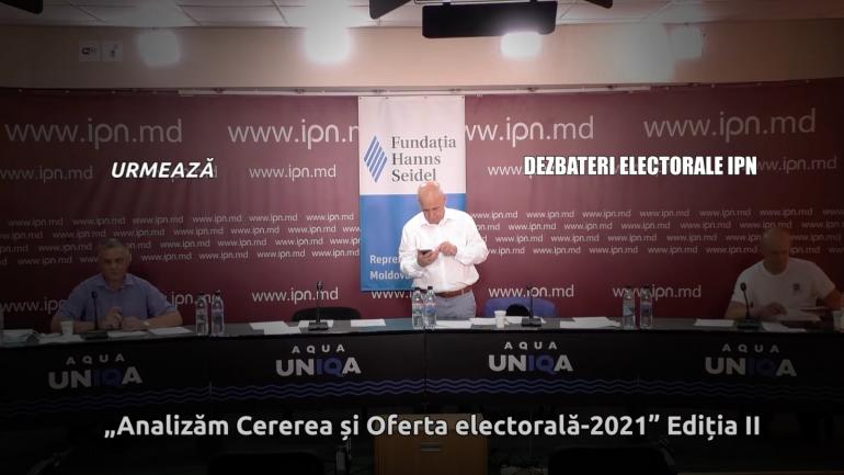 O nouă rundă de dezbateri electorale la IPN