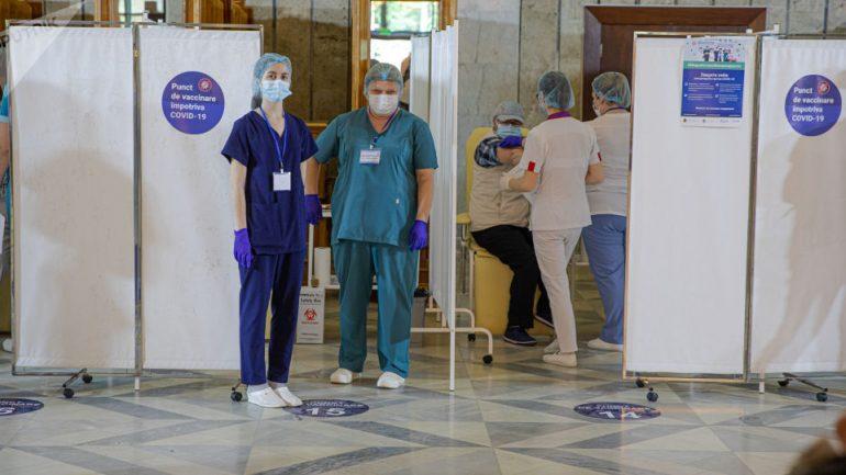 Agenda - Inaugurarea unui punct de vaccinare în cadrul Aeroportului Internațional Chișinău