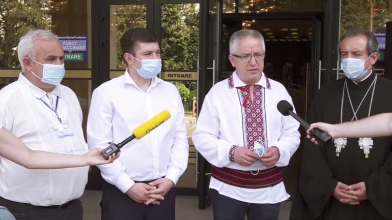 Un nou maraton de vaccinare anti COVID-19 la Palatul Republicii. Conferința de totalizare