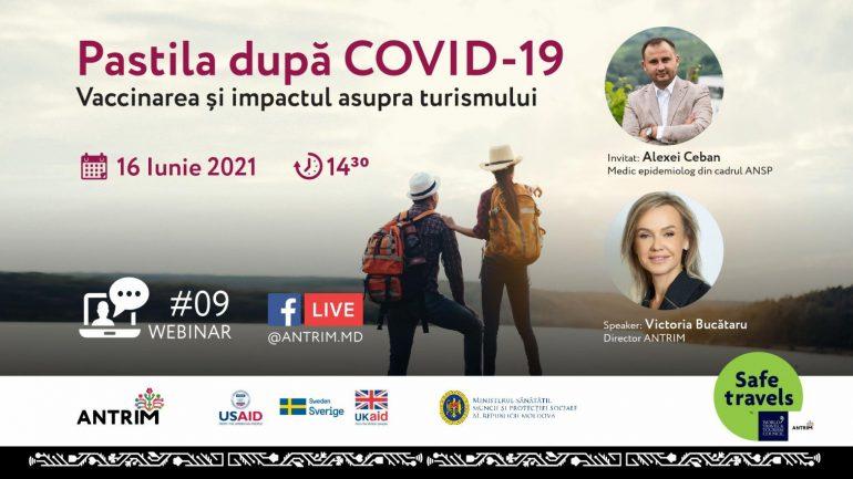 Pastila după COVID-19 – Vaccinarea și impactul asupra turismului