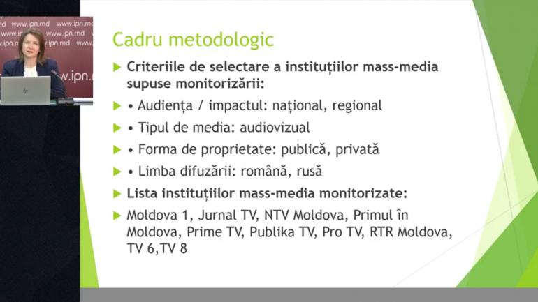 Centrul pentru Jurnalism Independent lansează primul raport de monitorizare a presei audiovizuale în campania electorală