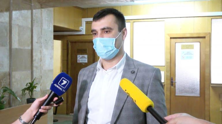 """Declarații de presă după prima ședința în dosarul """"Casa Modei"""", după ce cauza a fost întoarsă la Judecătoria Ciocana"""