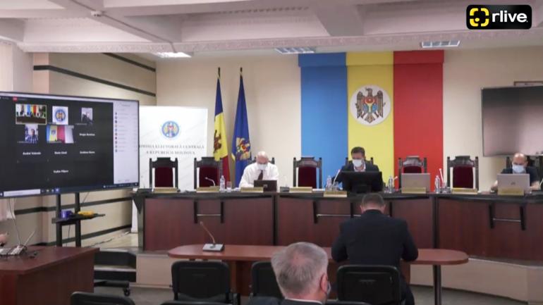 Ședința Extraordinară a Comisiei Electorale Centrale, din 17 iunie 2021