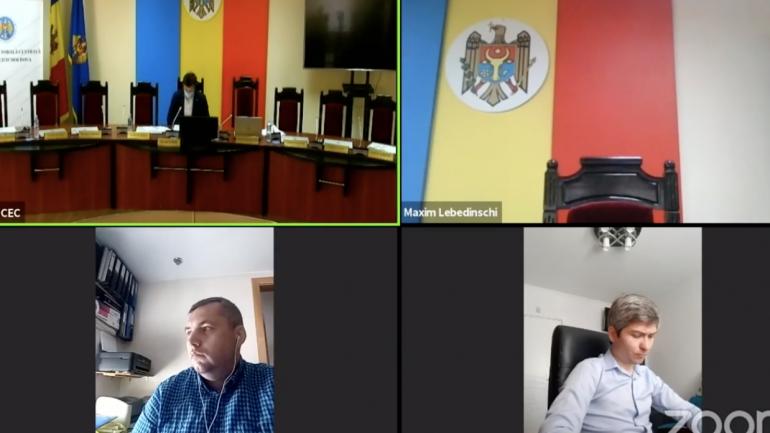 Ședința Comisiei Electorale Centrale, din 25 iunie 2021