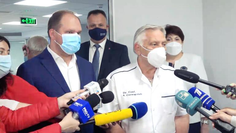 """Agenda - Inaugurarea unei noi secții de terapie intensivă și reanimare din cadrul Spitalului Clinic Municipal """"Sfânta Treime"""""""