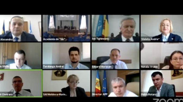Curtea de Conturi examinează raportul auditului rapoartelor financiare ale Academiei de Științe a Moldovei, încheiate la 31 decembrie 2020