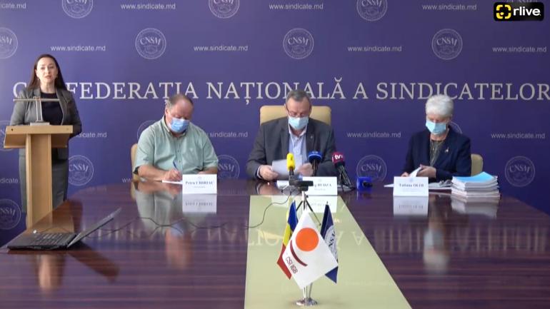 Confederația Națională a Sindicatelor din Moldova răspunde acuzațiilor apărute în spațiul public