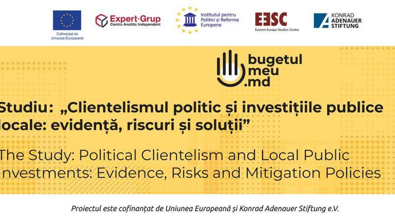 Clientelismul politic și investițiile publice locale: evidență, riscuri și soluții