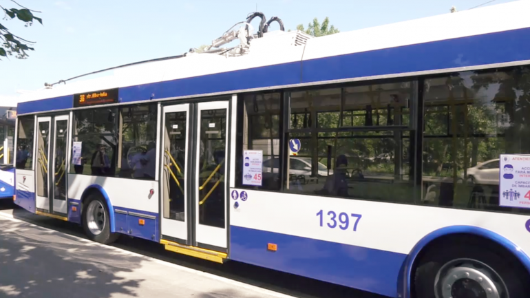 Inaugurarea rutei de troleibuz nr. 38, care va circula pe strada Albișoara din Capitală