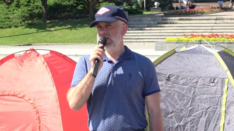 Greva foamei continuă. Ce spune liderul Partidului Regiunilor, Alexandr Kalinin la a patra zi de protest în PMAN
