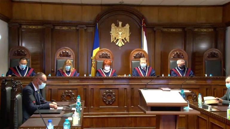 Agenda - Ședința Curții Constituționale privind confirmarea alegerilor parlamentare anticipate și validarea mandatelor deputaților aleși