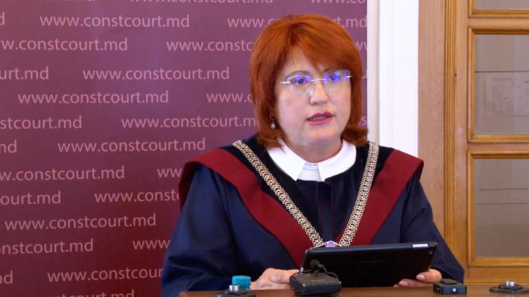 Agenda - Briefing de presă susținut de președintele Curții Constituționale, Domnica Manole
