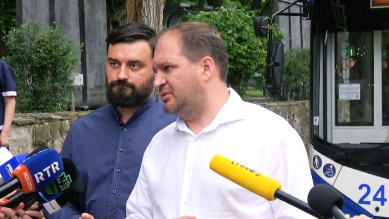 Lansarea unei noi linii de troleibuz, care leagă cartierul Poșta Veche și sectorul Botanica