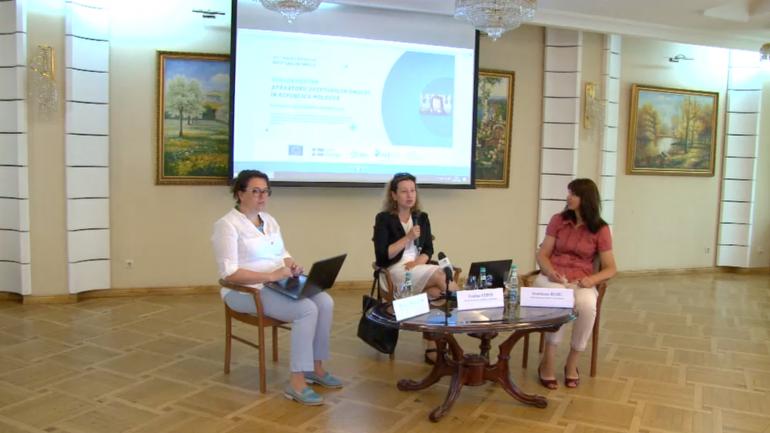 """Evenimentul de lansare a proiectului """"Scut pentru apărătorii drepturilor omului – Sprijin apărătorilor drepturilor omului în Republica Moldova"""""""
