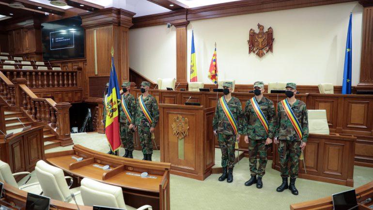 Agenda - Ședința de constituire a Parlamentului Republicii Moldova, Legislatura a XI-a