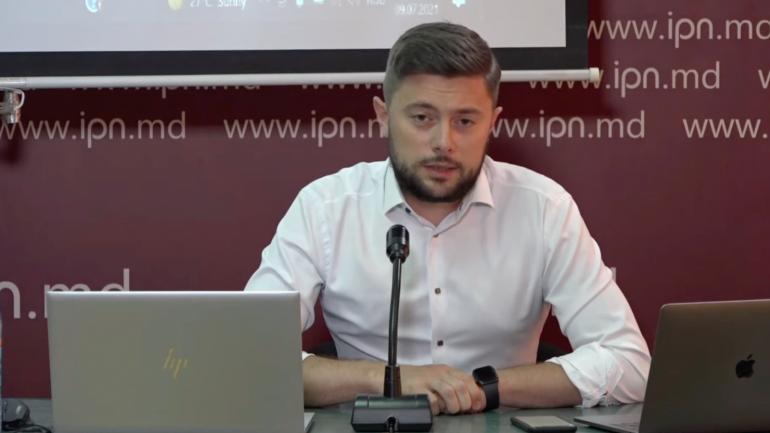 Fostul viceprimar de Chișinău Victor Chironda susține declarații de presă