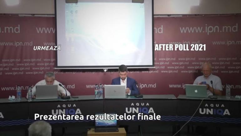 Rezultatele FINALE ale sondajului after poll în ziua alegerilor parlamentare anticipate