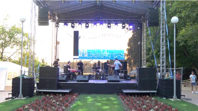 """Recital muzical de jazz cu Alex Calancea Band, în Parcul """"Valea Morilor"""""""
