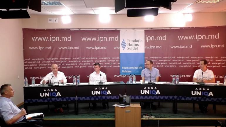 """Cea de-a opta dezbatere electorală la IPN din seria """"Analizăm Cererea și Oferta electorală-2021"""""""