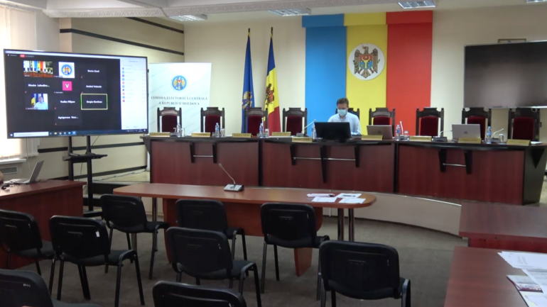 Ședința extraordinară a Comisiei Electorale Centrale, din 7 septembrie 2021