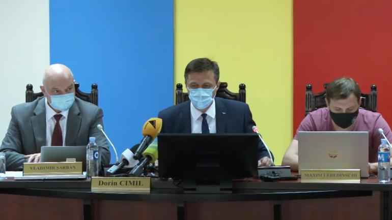 Ședința Comisiei Electorale Centrale. Pe ordinea de zi – totalizarea rezultatelor alegerilor parlamentare anticipate