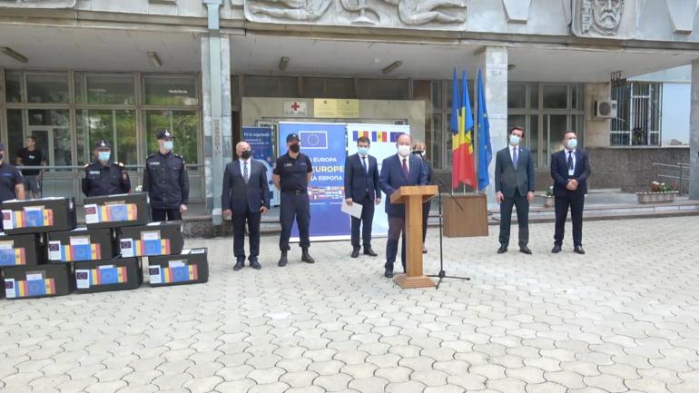 Agenda - Ceremonia de recepționare a unui lot de 100.620 doze de vaccin împotriva COVID-19, donat de România