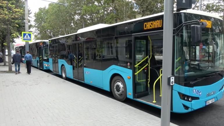 Lansarea pe rute a încă cinci autobuze noi ISUZU din cele 100 achiziționate recent de municipalitate