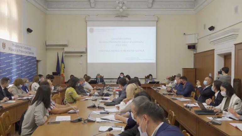Consultări publice asupra proiectului Planului de acţiuni al Guvernului pentru anii 2021-2022, în domeniile muncii şi protecţiei sociale