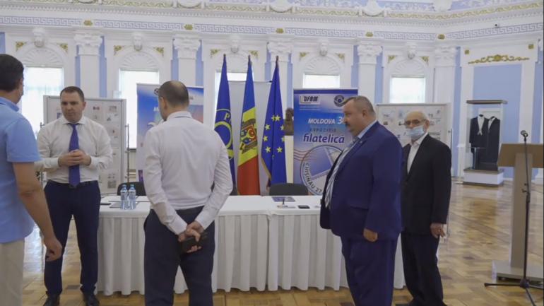 """Ceremonia oficială de punere în circulație a mărcilor poștale consacrate aniversării a 30 de ani de la proclamarea Independenței Republicii Moldova"""""""
