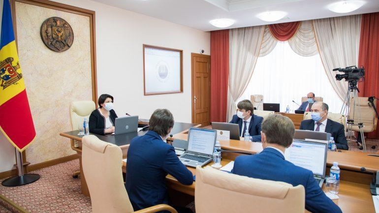 Ședința Guvernului Republicii Moldova, din 25 august 2021
