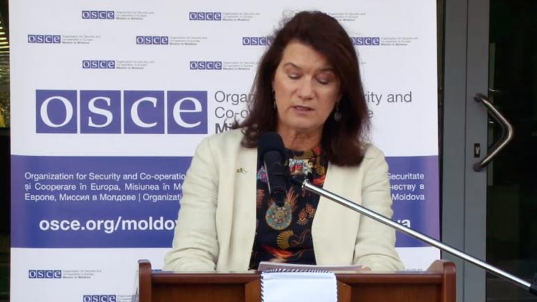 Declarațiile președintei în exercițiu a OSCE, ministra Afacerilor Externe a Suediei, Ann Linde după vizita în Republica Moldova