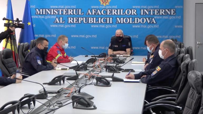 Inspectoratul General pentru Situații de Urgență, briefing de presă cu tematica imunizării împotriva COVID-19 a salvatorilor și pompierilor